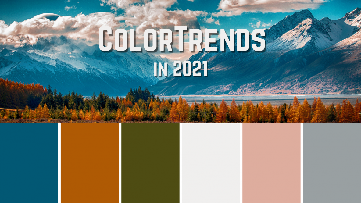 Top Color Trends for Your Home in 2021
